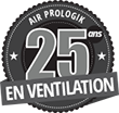 Air Prologik 25 ans en vantilation